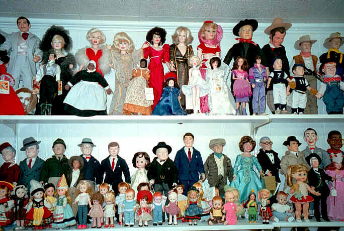 ...and more dolls.