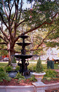 Herman Davis Memorial Fountain, Old State House, Little Rock