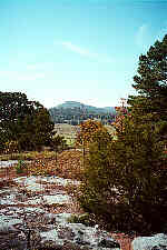 Sugarloaf Mountain at Calico Rock