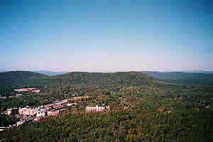 Sugarloaf Mountain in Hot Springs